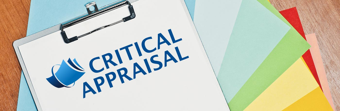 Revealed - new logo for the critical appraisal website