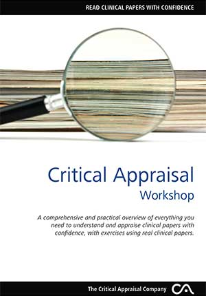 critical appraisal workshop