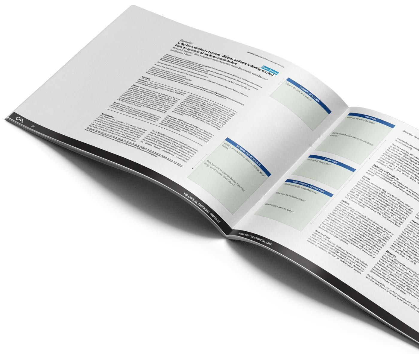 critical appraisal clinical papers workbook inside spread